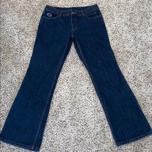 Women's Harley Davidson  Flare Jeans